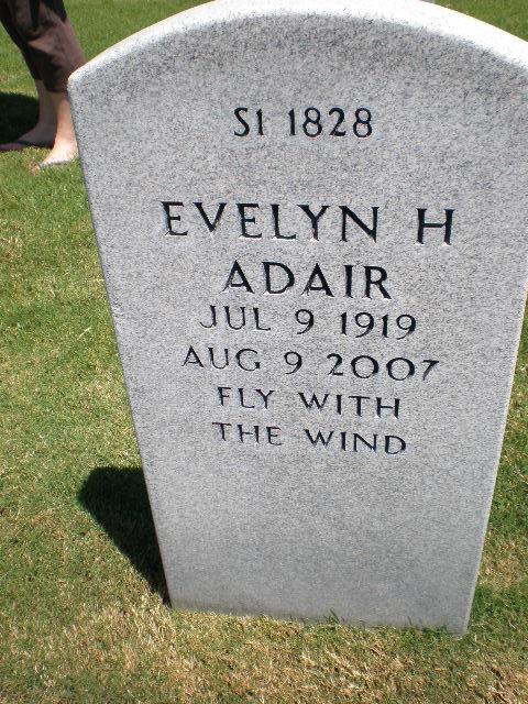 Evelyn H <i>Harris</i> Adair