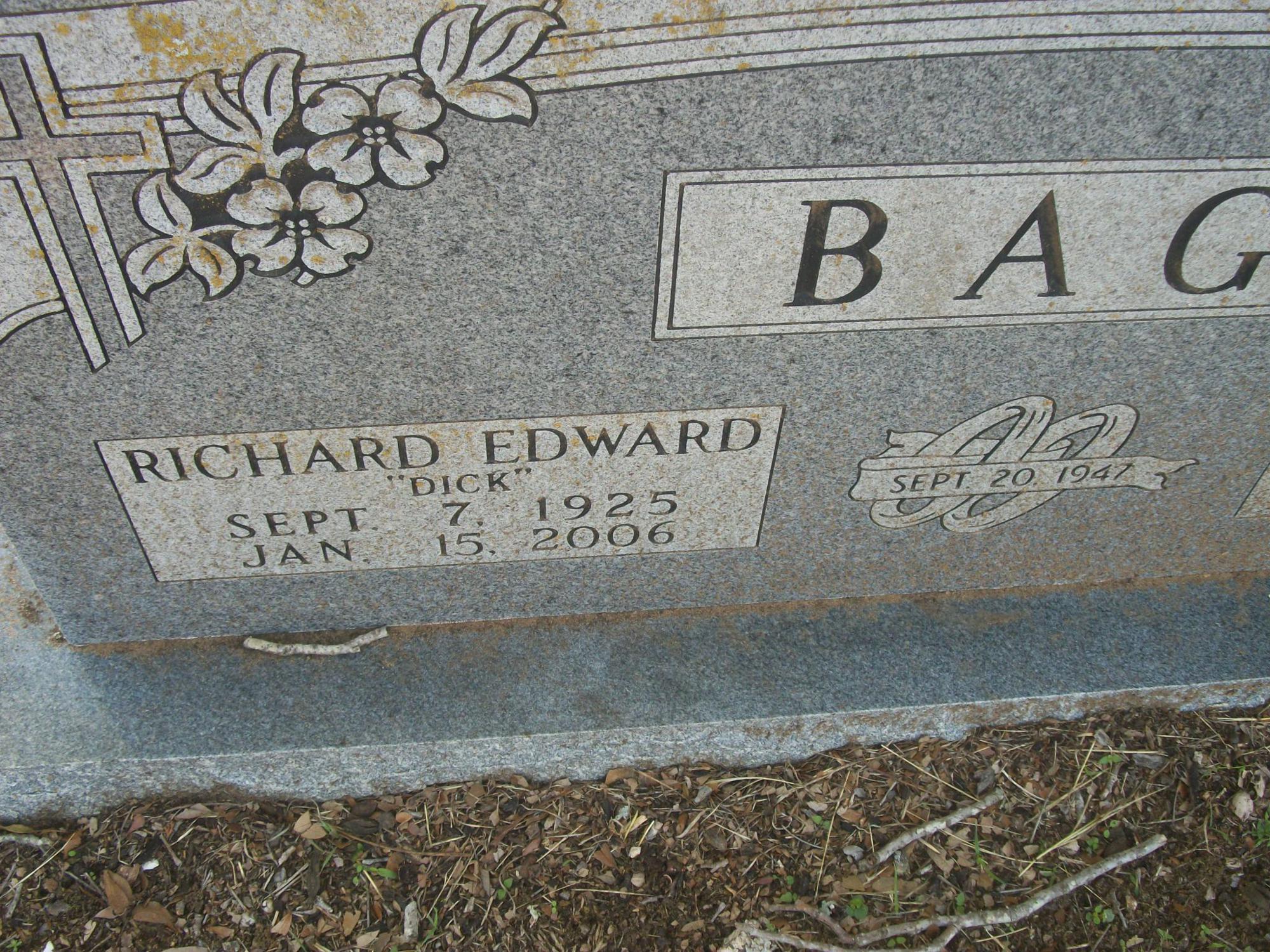 Richard Edward Bage