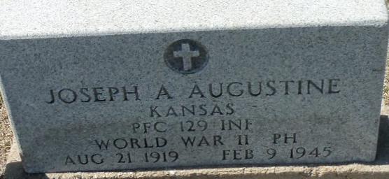PFC Joseph A Augustine