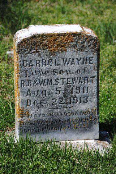 Carroll Wayne Stewart