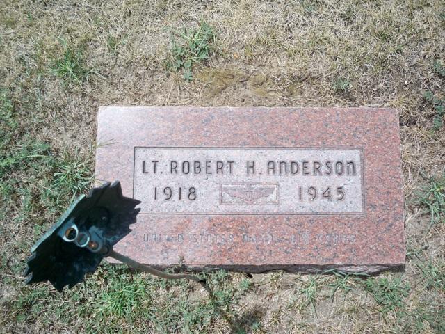 Lieut Robert Harold Anderson