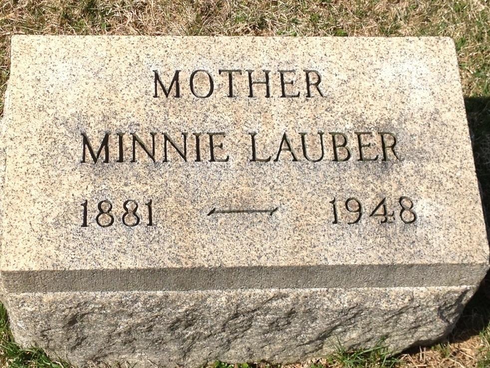 Minnie <i>Lauber</i> Gore