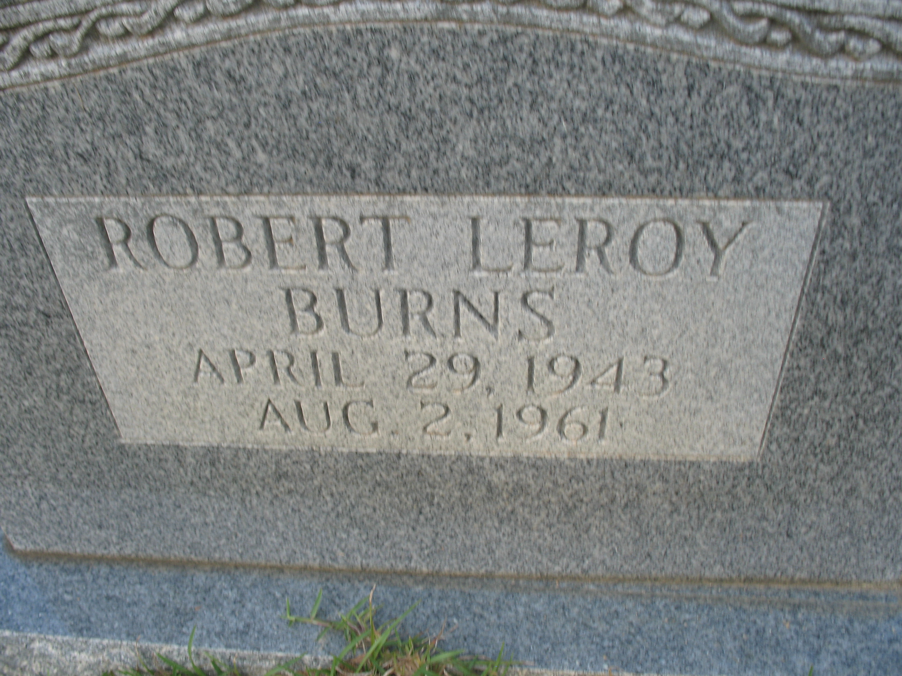 Robert Leroy Burns