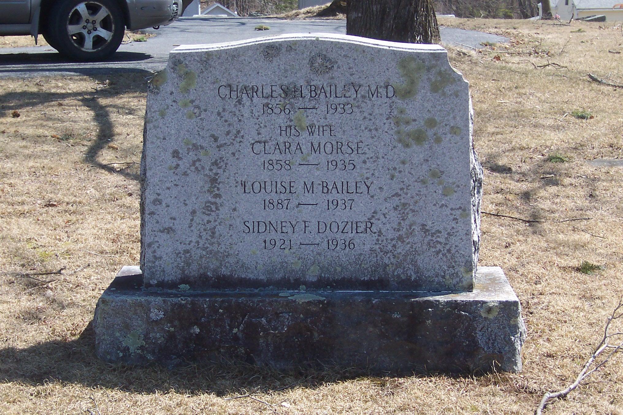 Clara Estelle <i>Morse</i> Bailey
