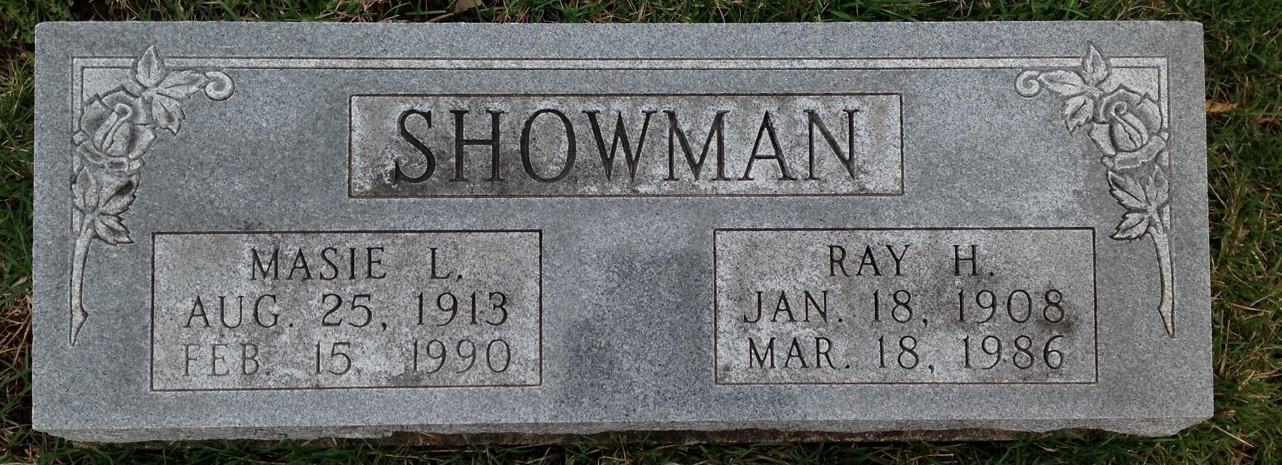 Masie Lillian <i>Cox</i> Showman