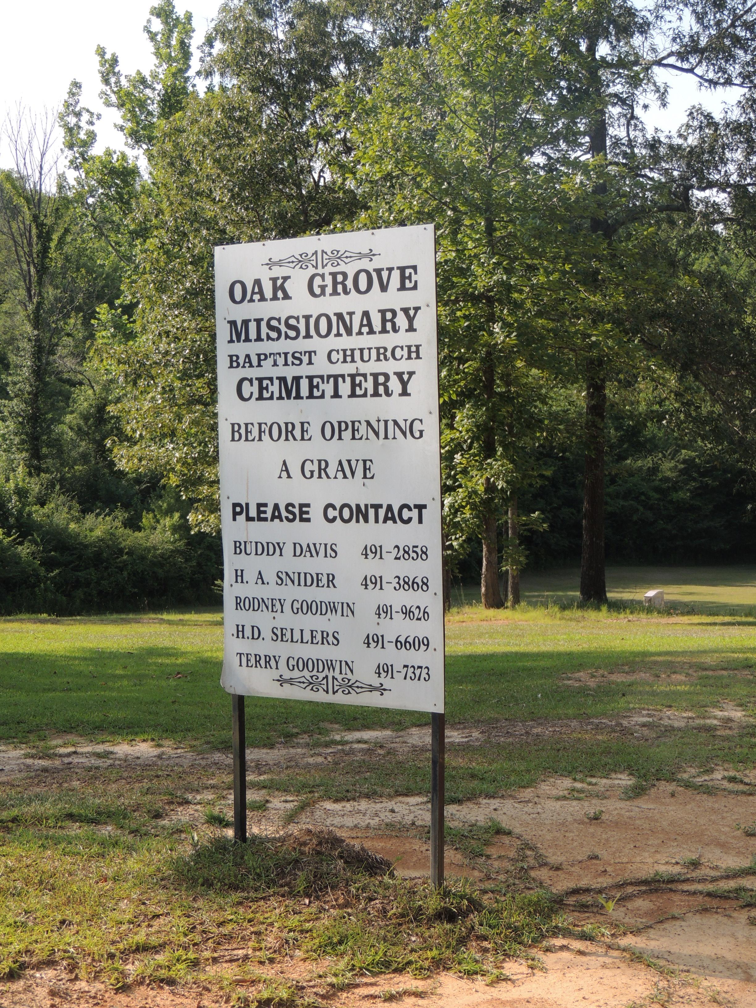 Oak Grove Missionary Baptist Church Cemetery