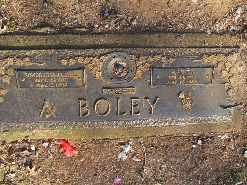 Helen Edith <i>Whetsel</i> Boley