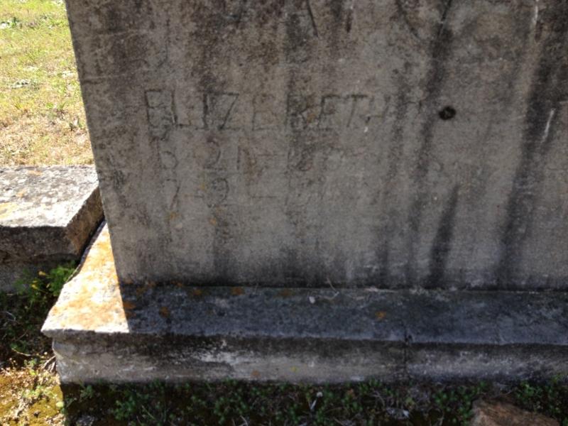 Elizabeth <i>Faulkner</i> Armistead