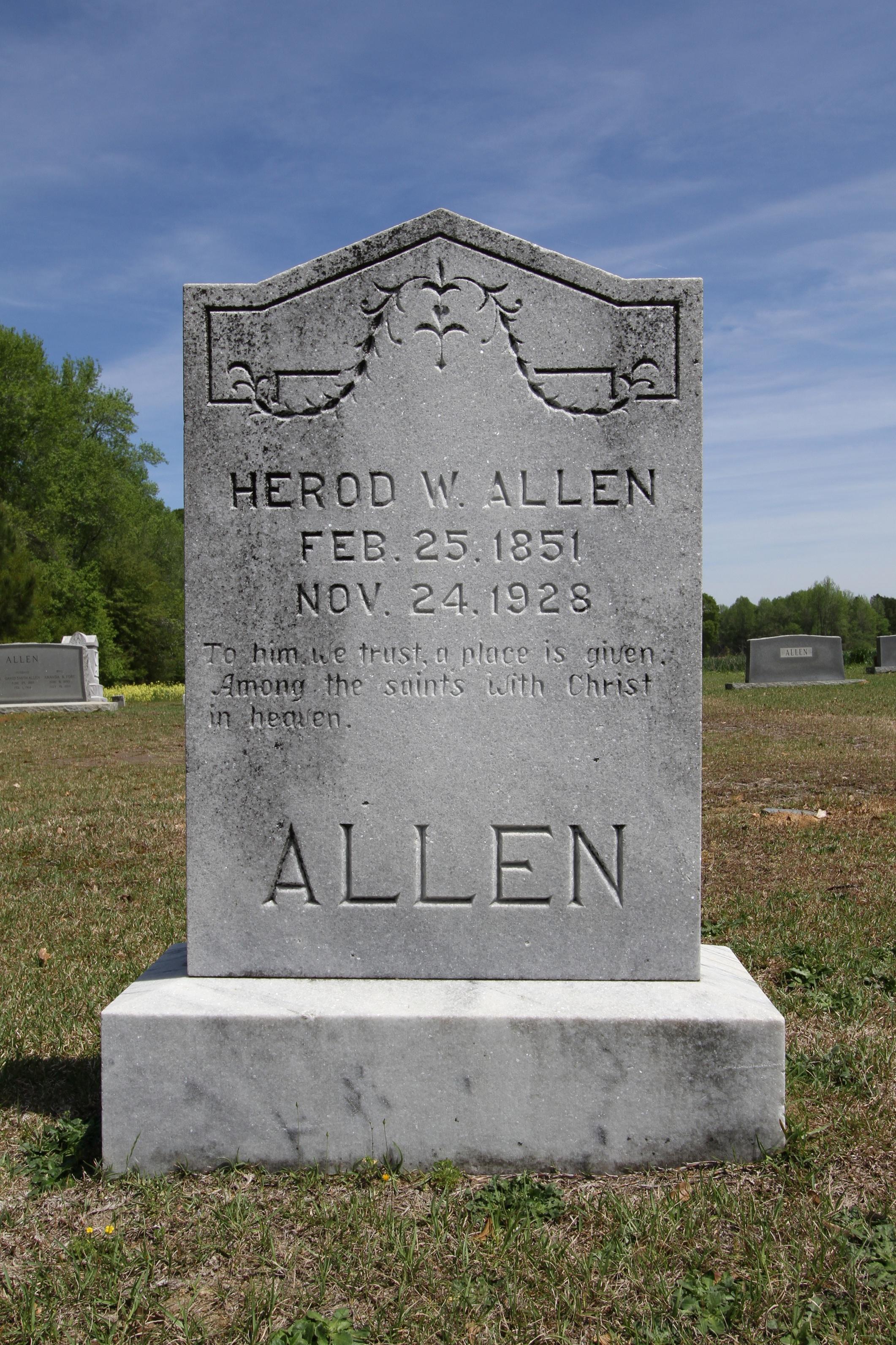 Herod W Allen