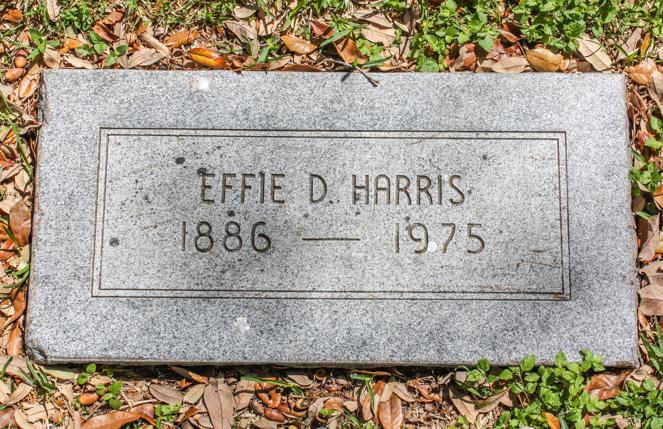 Effie Deana <i>Besgrove</i> Harris