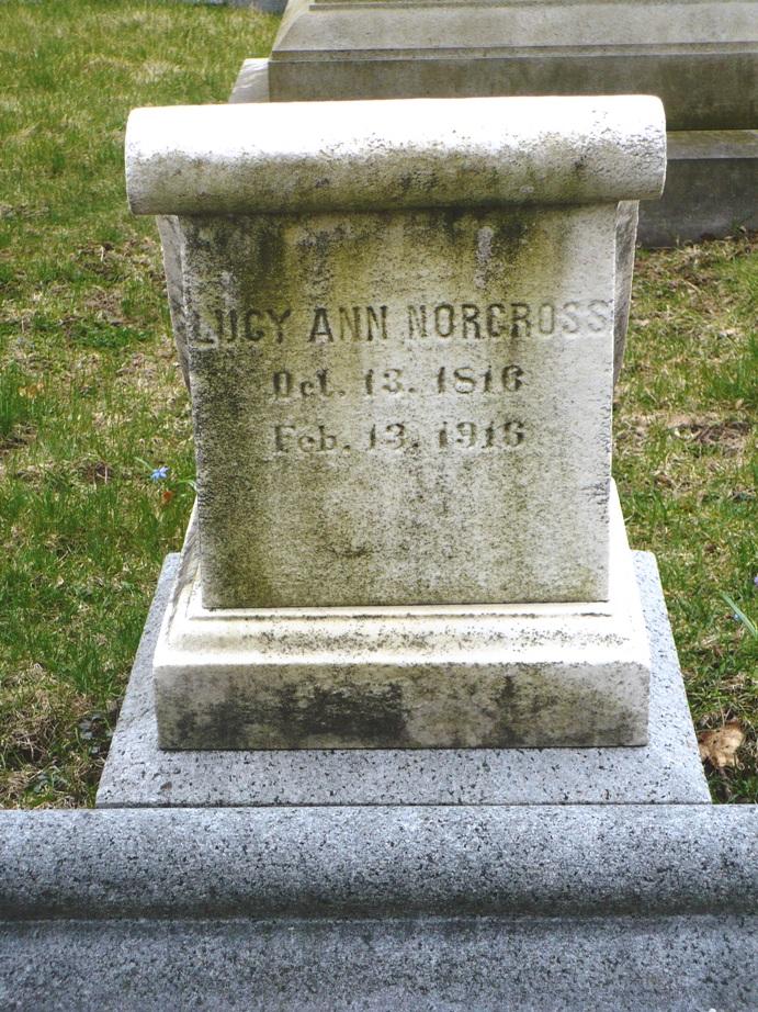 Lucy Ann <i>Lane</i> Norcross