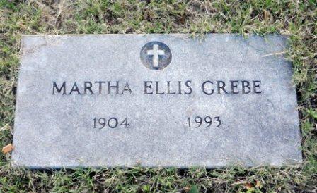 Martha <i>Ellis</i> Grebe