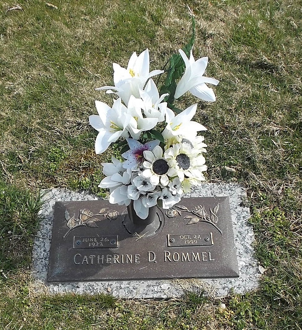 Catherine D  Rommel (1922-1999) - Find A Grave Memorial