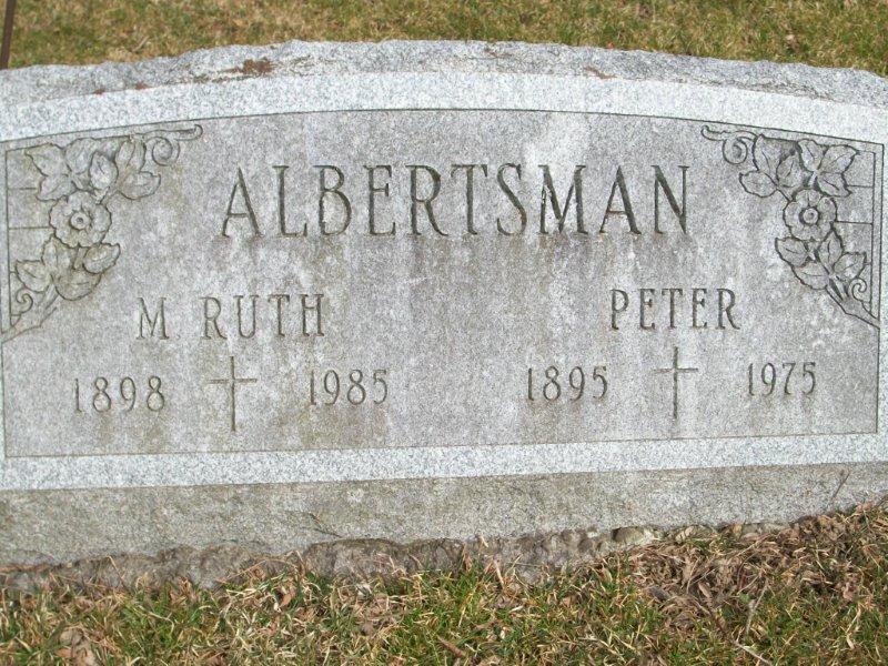Mary Ruth <i>Steele</i> Albertsman