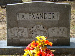 Myrtle Lee <i>McCall</i> Alexander