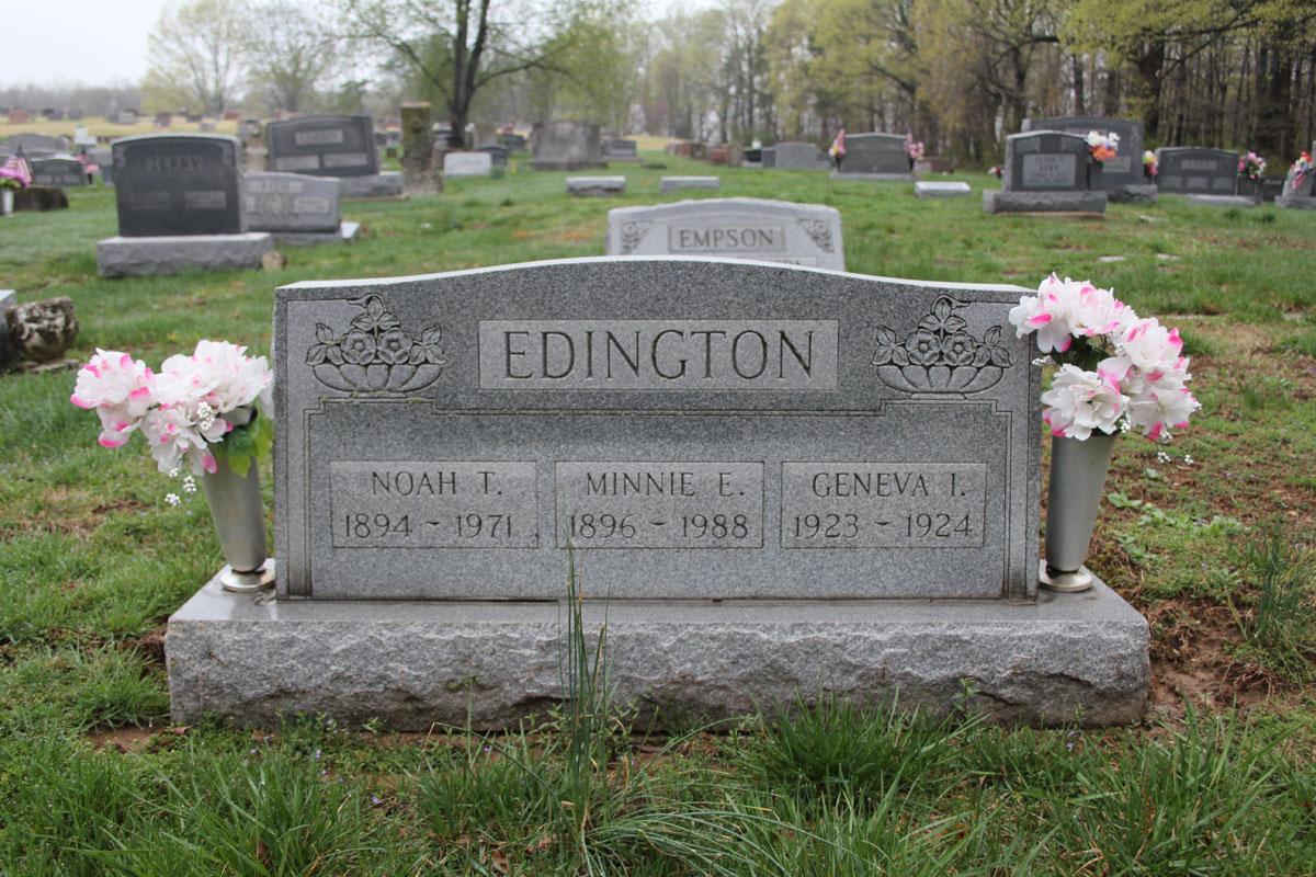 Noah T Edington