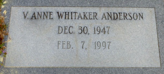 Verma Anne <i>Whitaker</i> Anderson