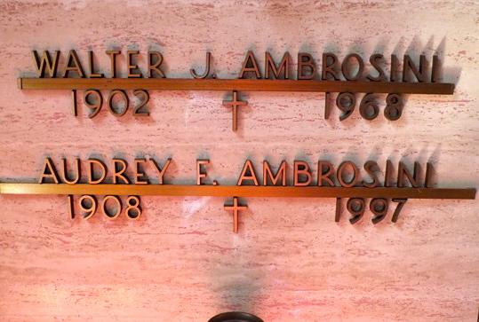 Audrey Frances <i>Rutledge</i> Ambrosini