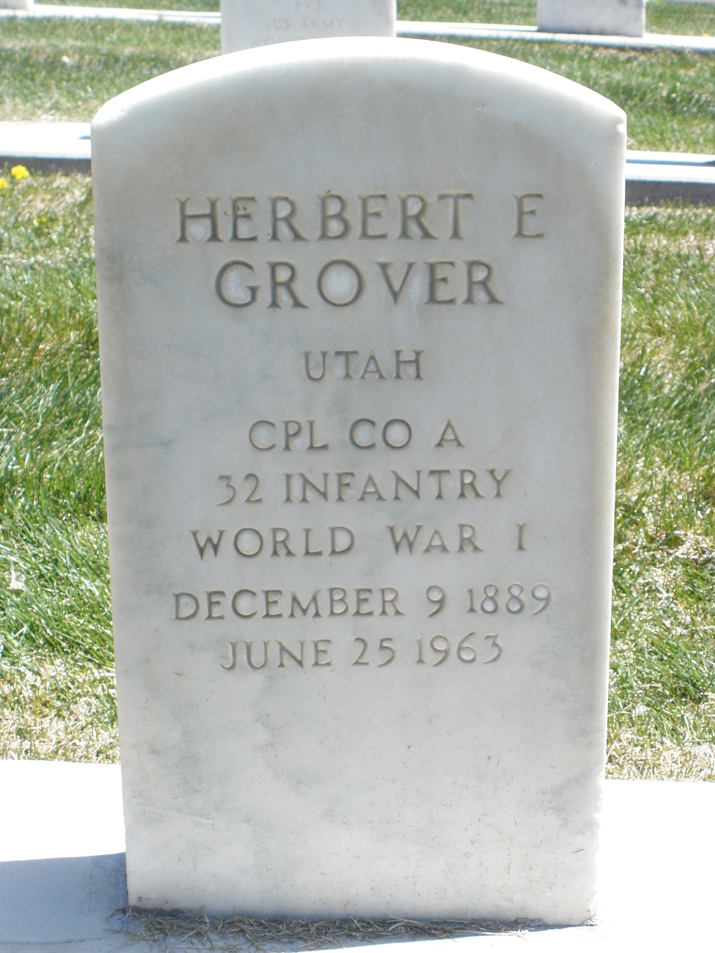 Herbert E. Grover