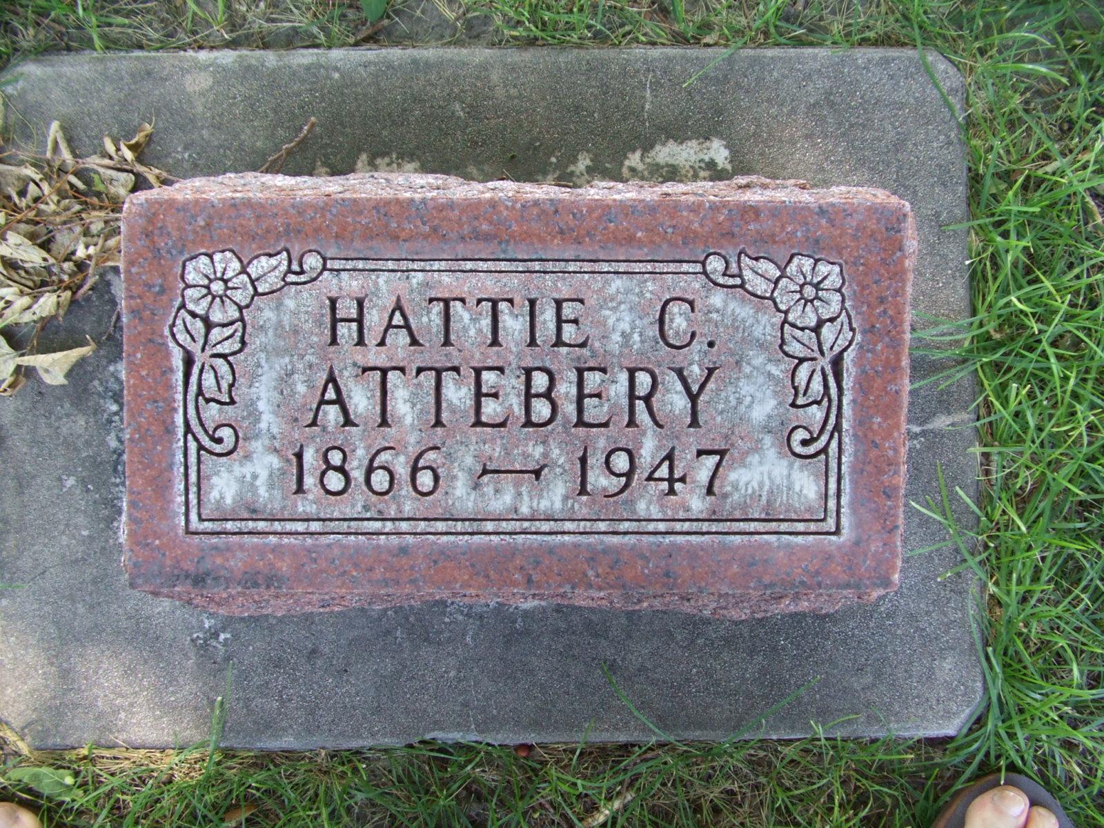 Hattie Clementine <i>Staten</i> Attebery