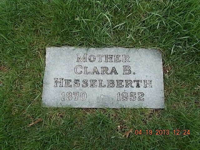 Clara B. <i>Lincoln</i> Hesselberth