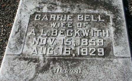 Carrie Bell <i>Stewart</i> Beckwith