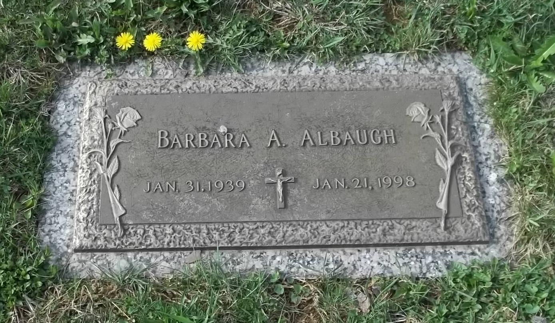 Barbara Ann <i>Weaver</i> Albaugh