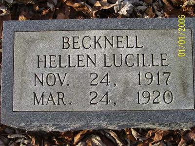 Helen Lucille Becknell