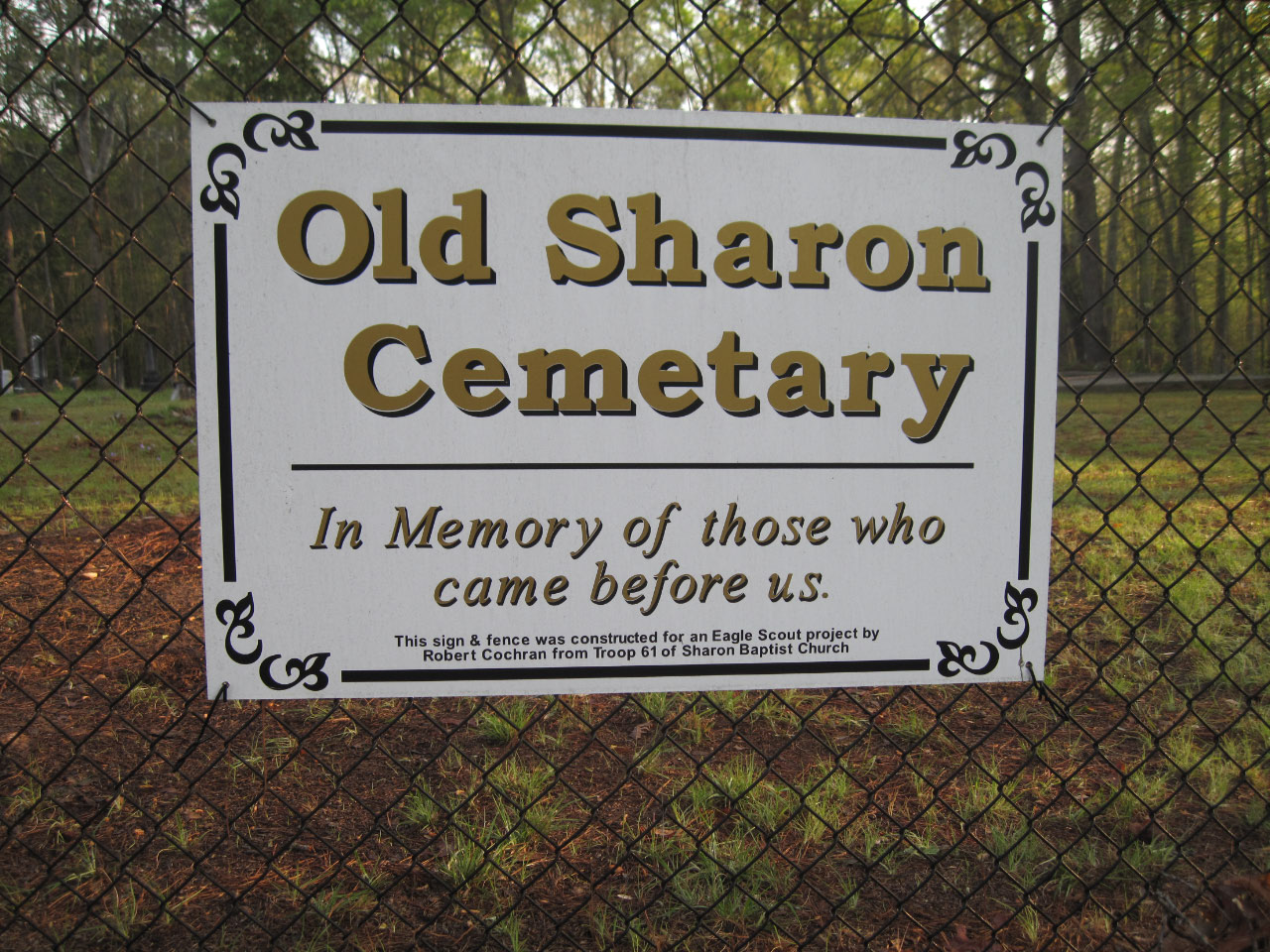 Old Sharon Cemetery