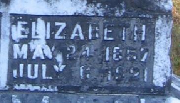 Elizabeth Lizzy Lizzie Pittman