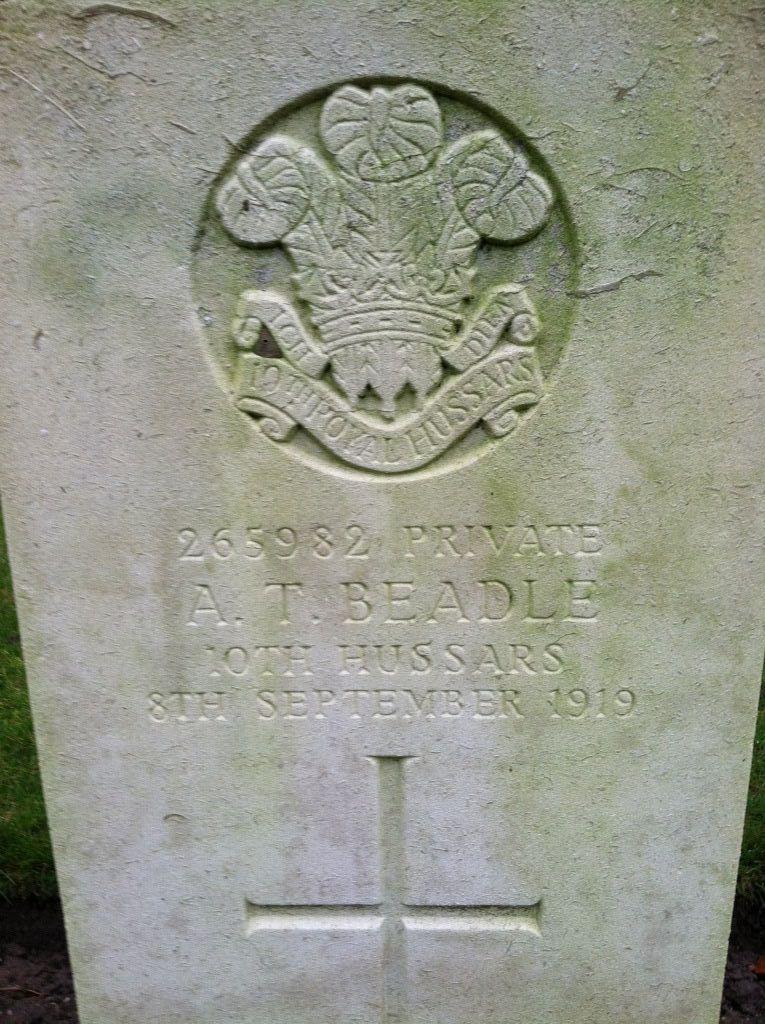 Private A T Beadle