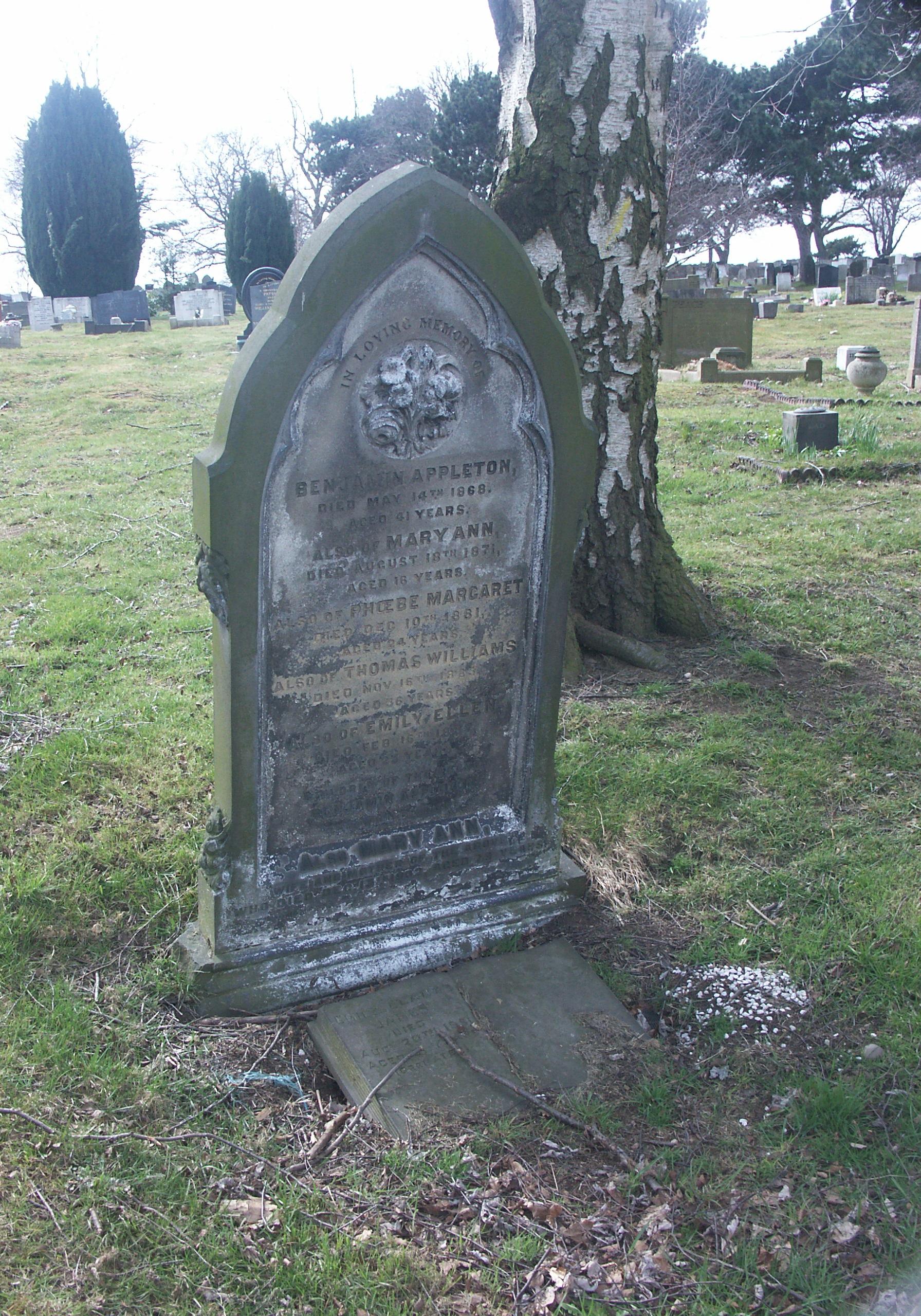Phoebe Margaret Appleton