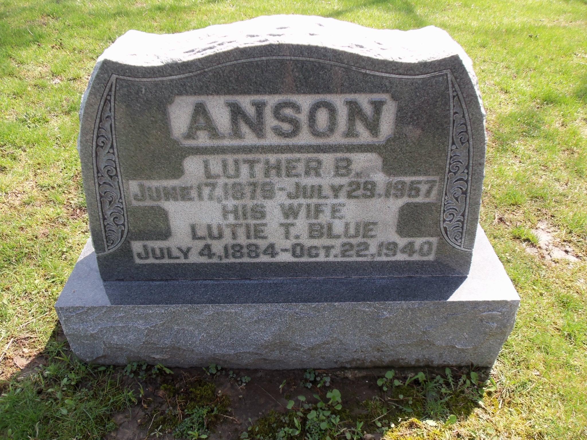 Lutie T. <i>Blue</i> Anson