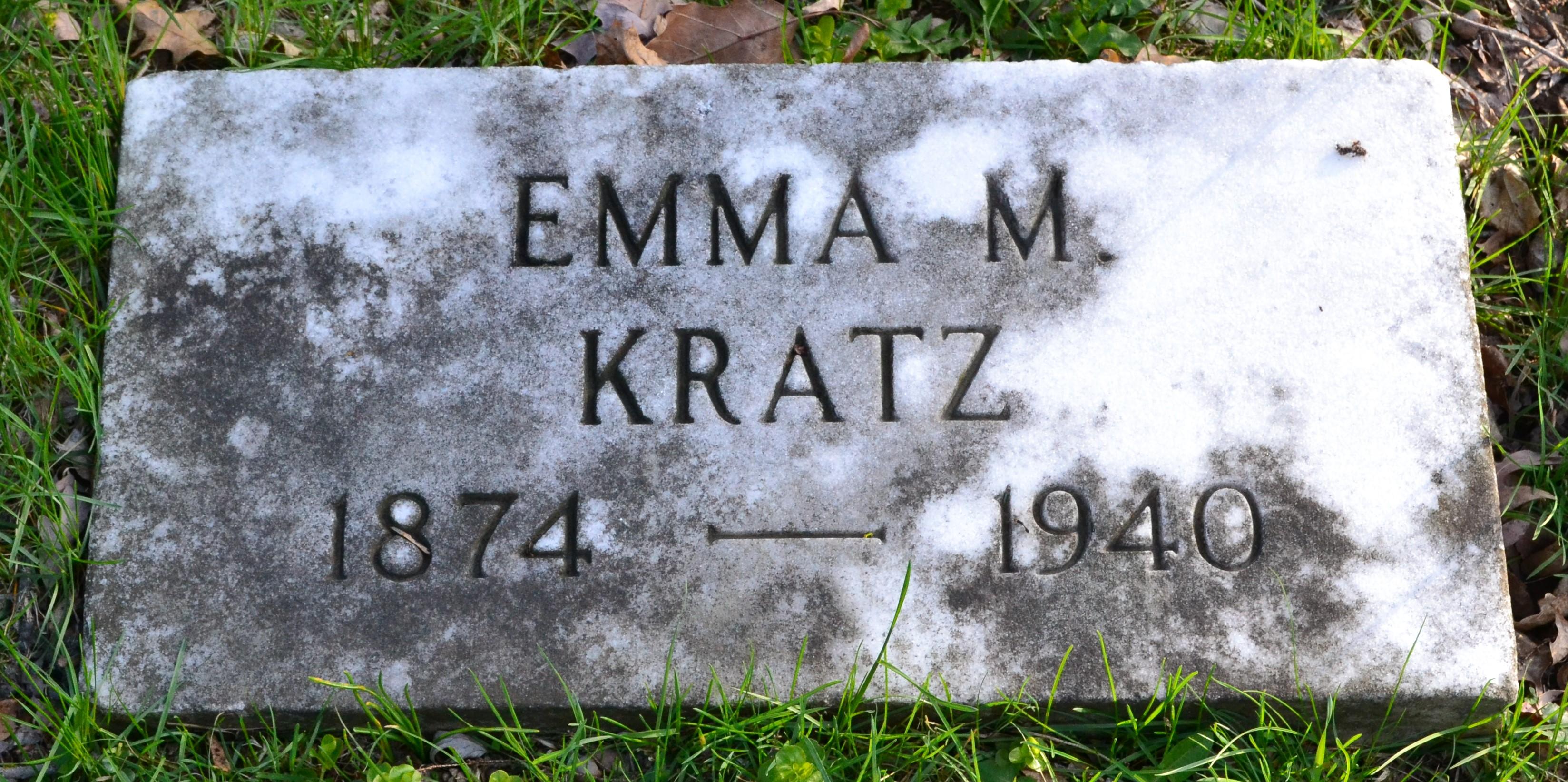 Emma M. <i>Just</i> Kratz