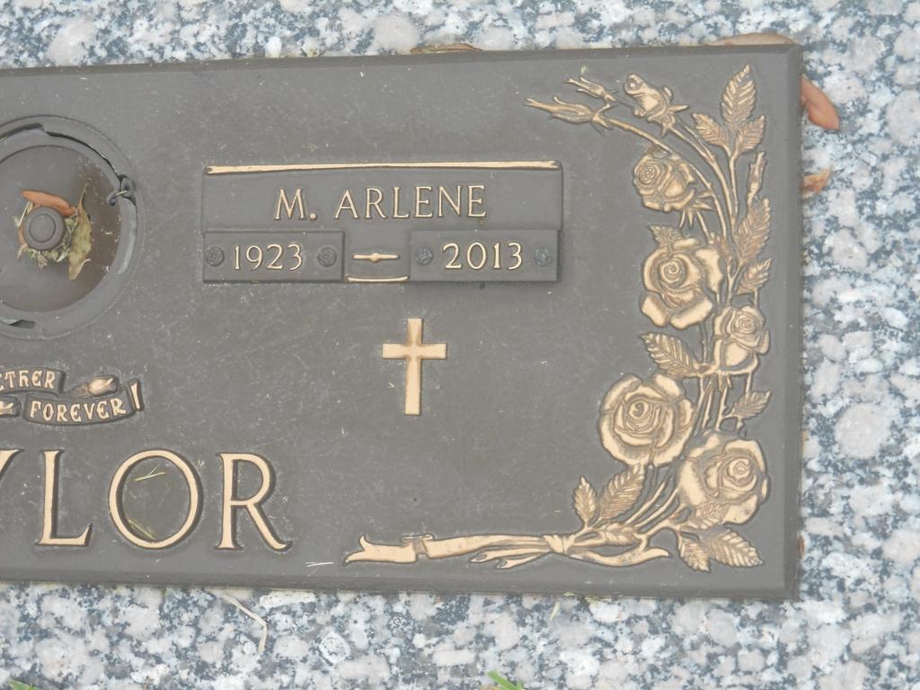 Martha Arlene <i>Pederson</i> Taylor