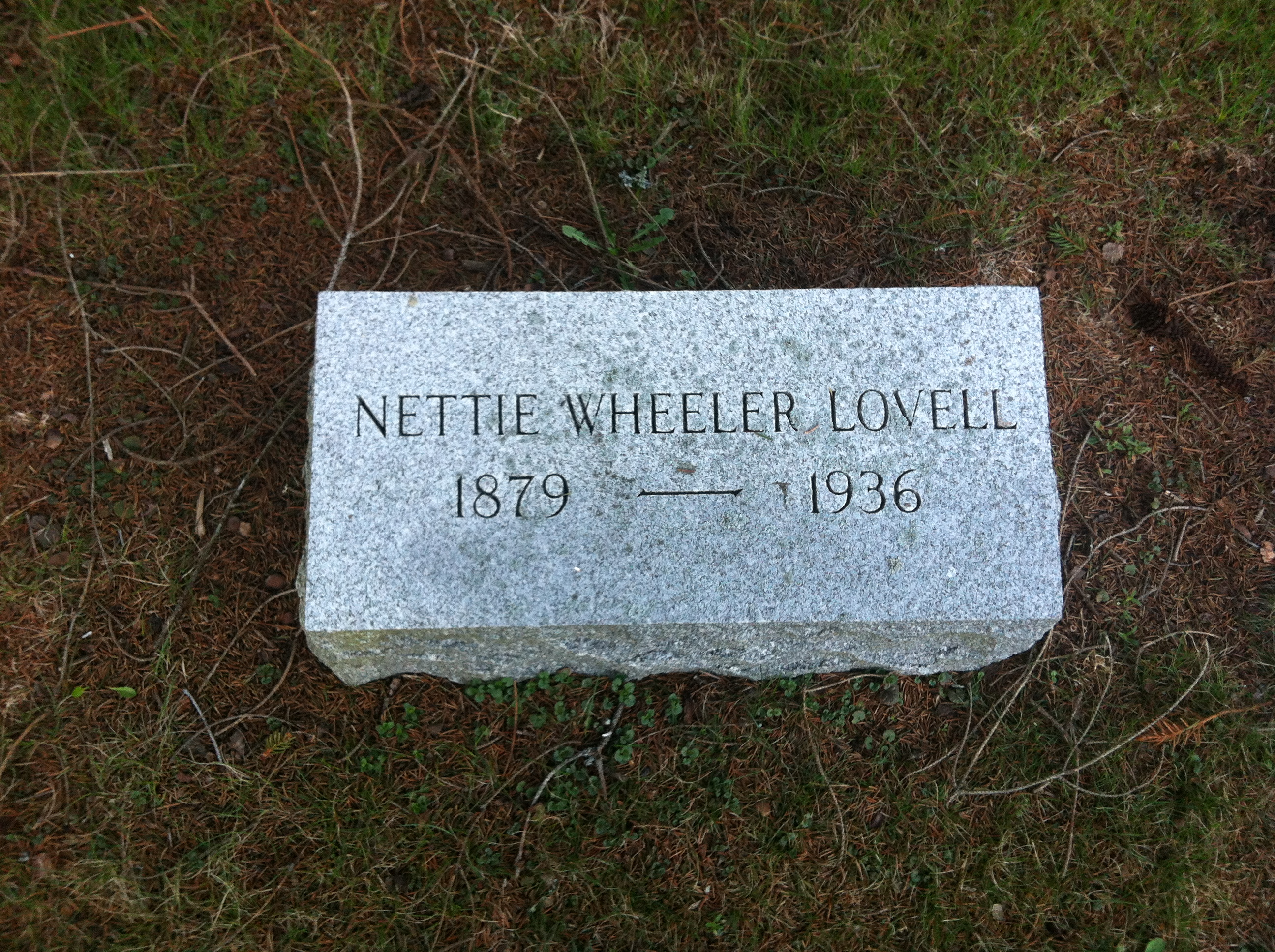 Nettie <i>Wheeler</i> Lovell