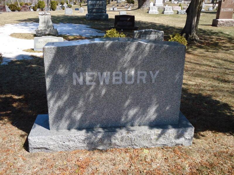 Caroline E <i>O'Deal</i> Newbury