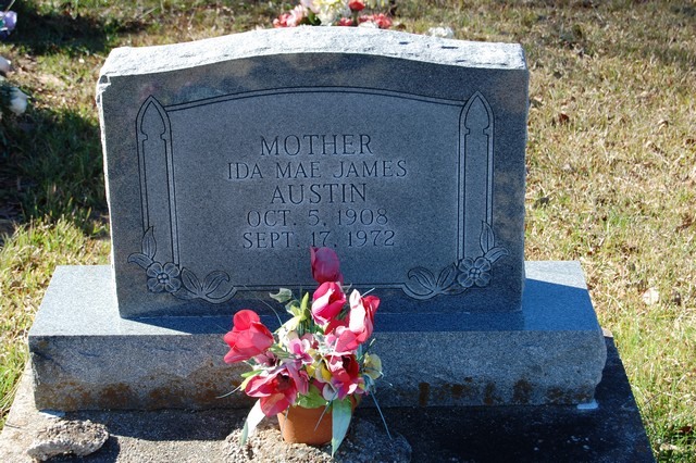 Ida Mae <i>James</i> Austin