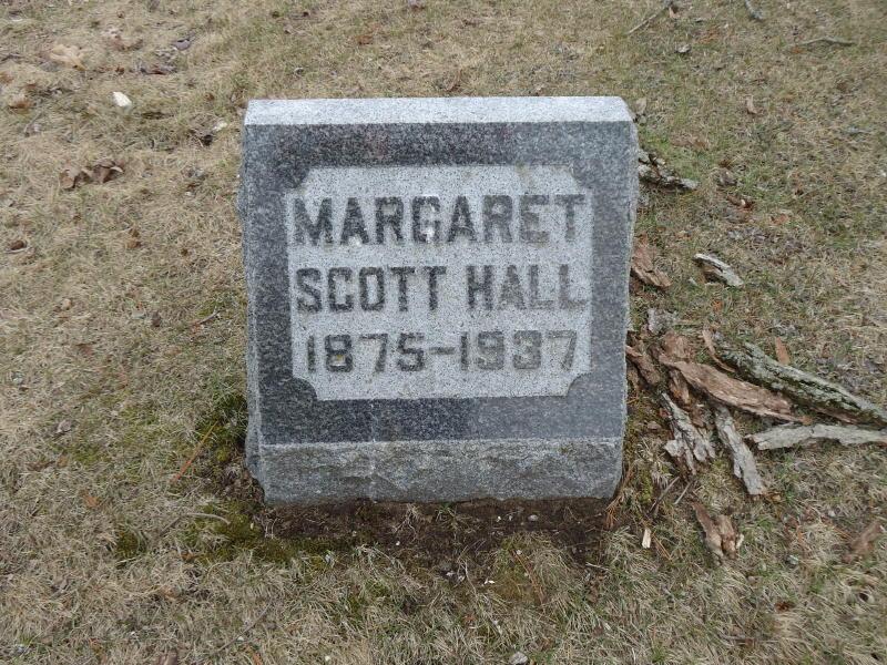 Margaret J. Maude <i>Scott</i> Hall