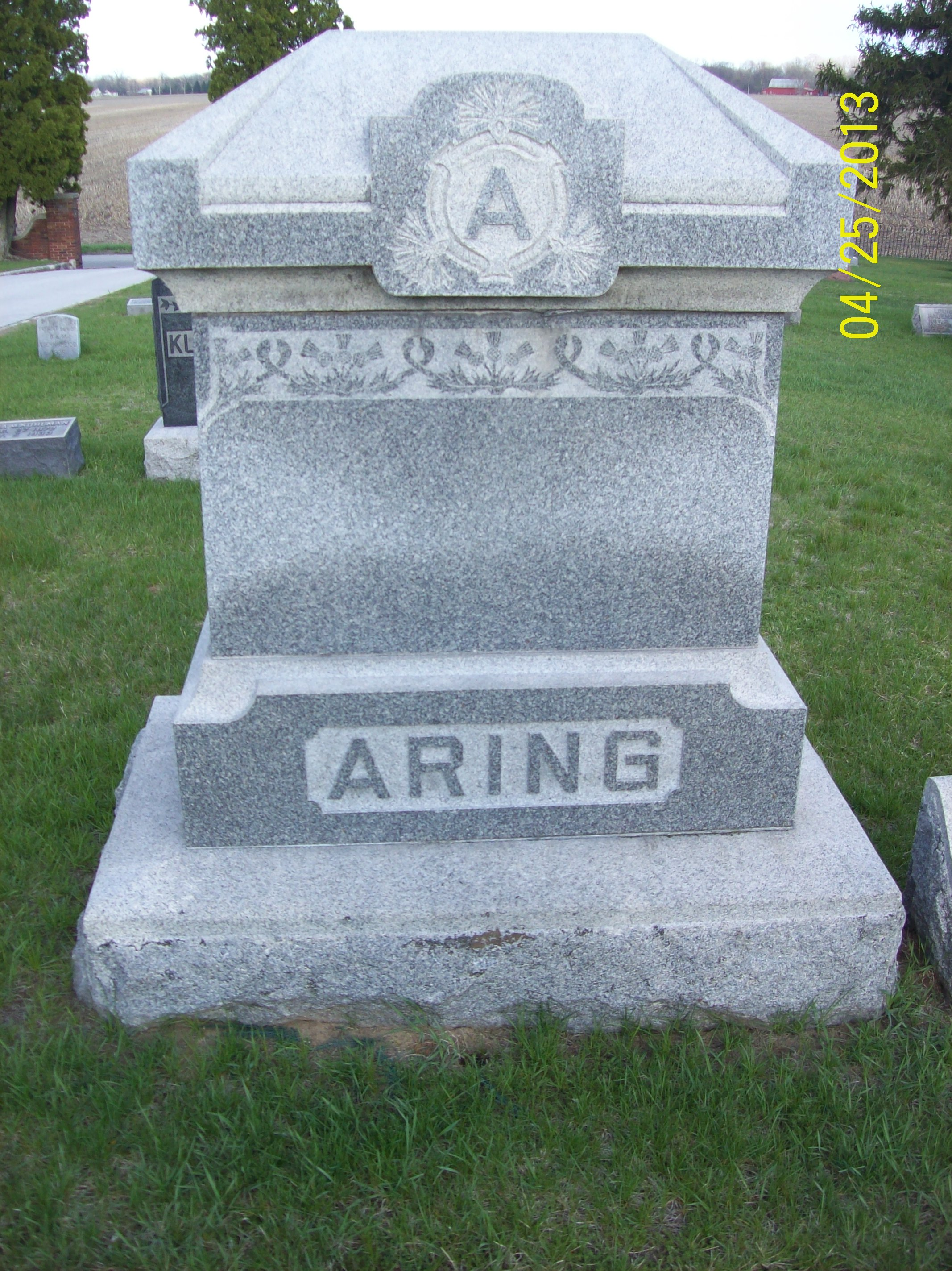 Anna Maria <i>Klaus</i> Aring