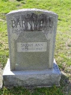 Sarah <i>Freeman</i> Barnwell