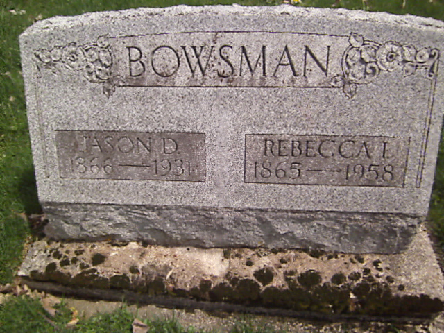 Rebecca Isabelle <i>Clapp</i> Bowsman