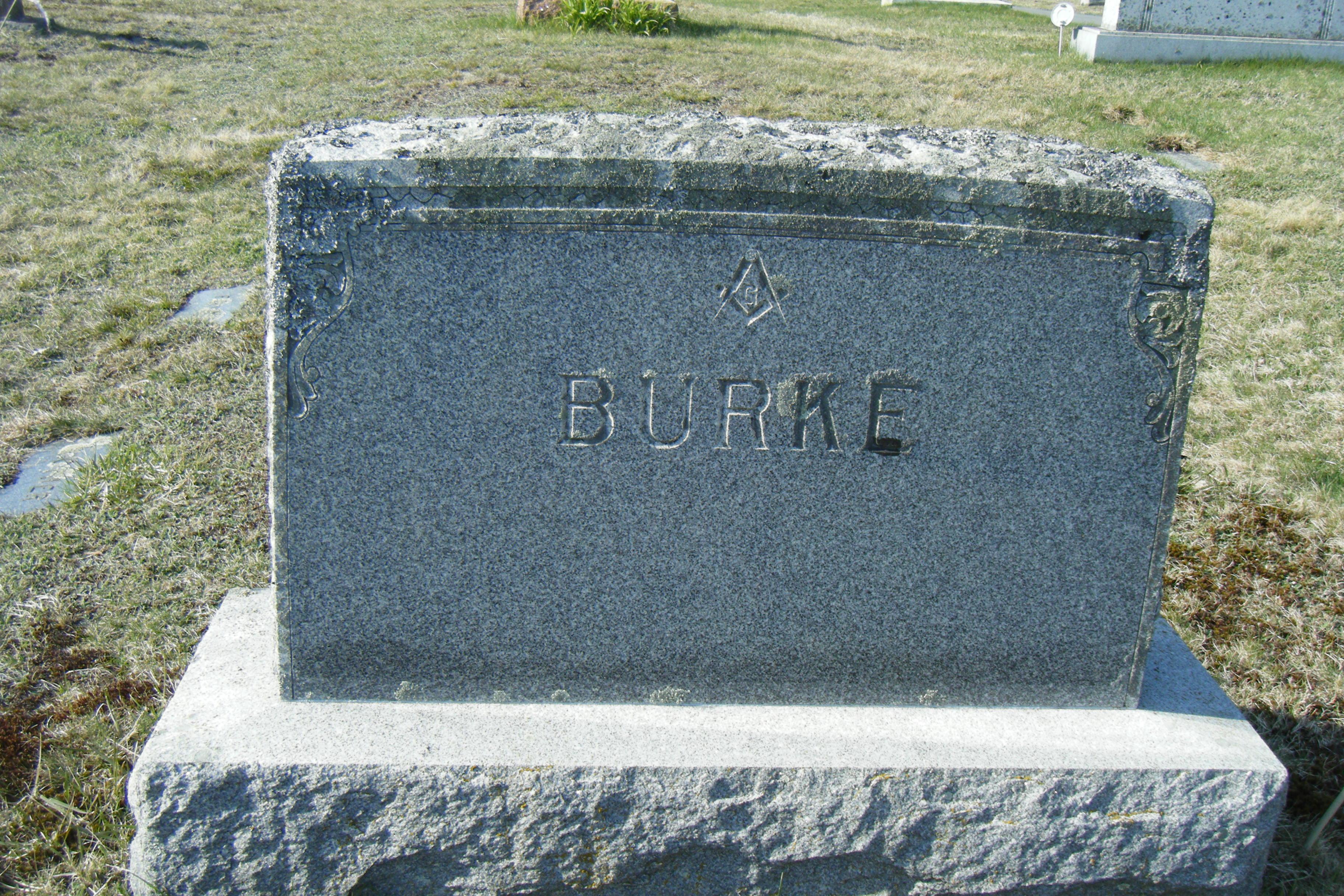Carrie Emma <i>Greenleaf</i> Burke