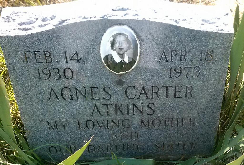 Agnes <i>Carter</i> Atkins