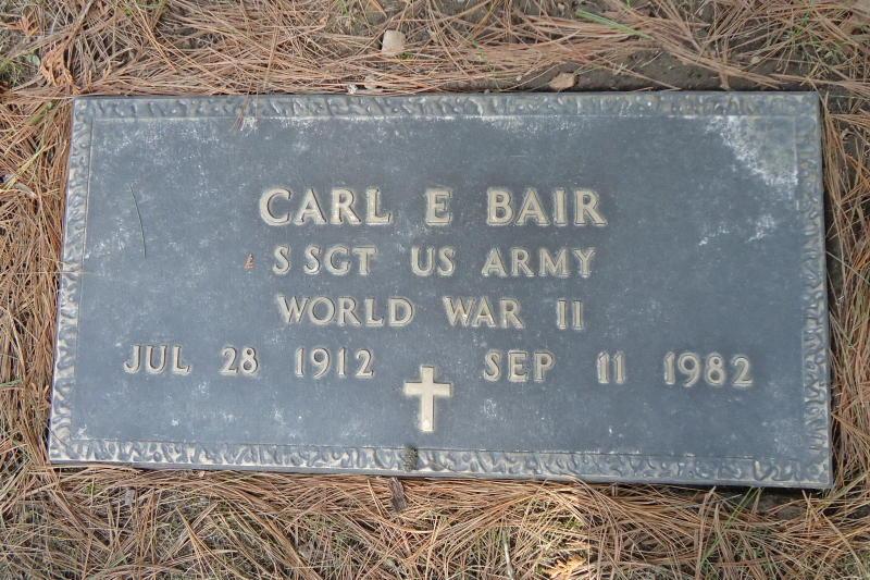 Carl Elwood Bair