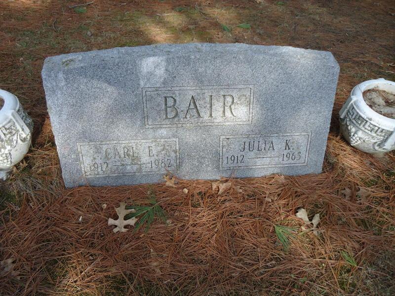 Julia Kristine <i>Hansen</i> Bair