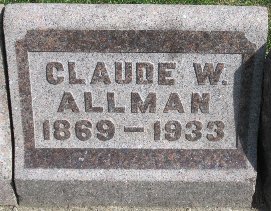Claude W. Allman