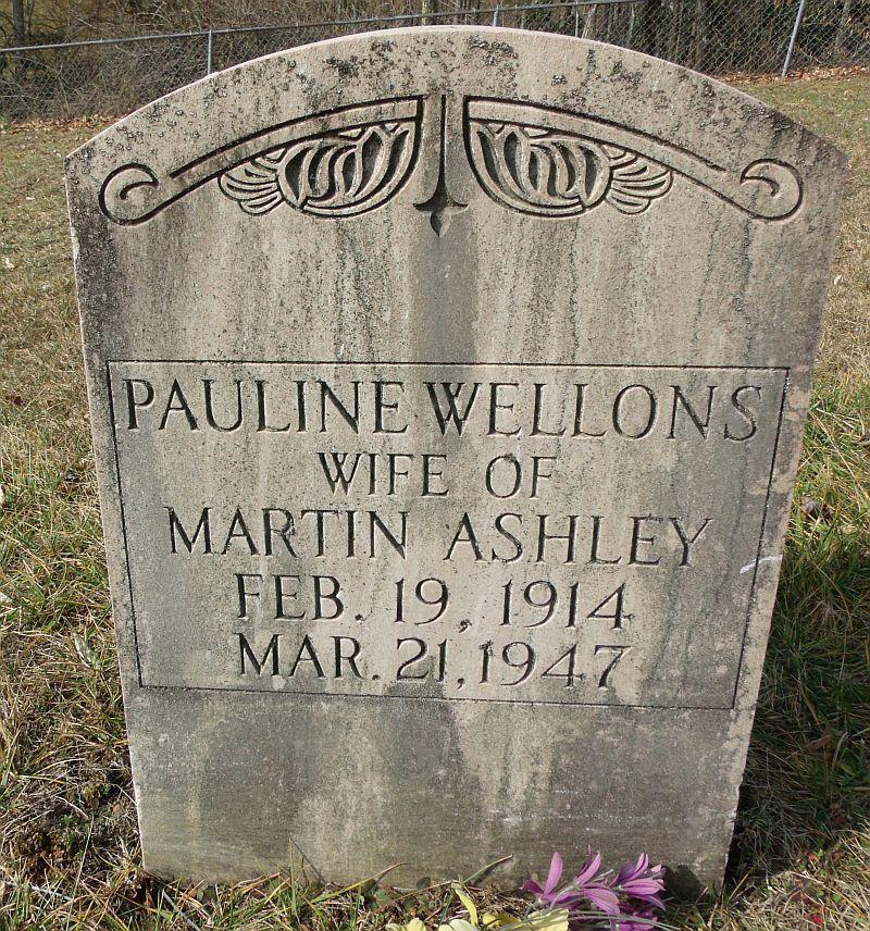 Pauline <i>Wellons</i> Ashley