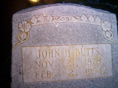 John Henry Butts