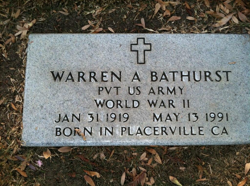 Warren Anthony Bathurst